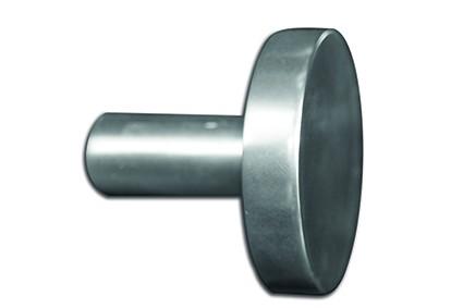 Scheibenhaken PEKING - Silber eloxiert